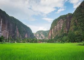 Vallée de Harau: l'exceptionnelle vallée verte
