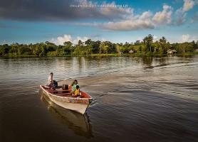 Delta de l'Orénoque: l'unique delta océanique dans le monde