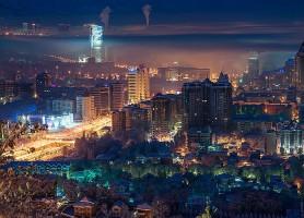 Almaty: l'hallucinante ville aux traits de jardin d'Éden