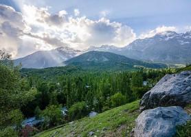 Arslanbob: un village aux traits exceptionnels