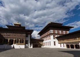 Dzong de Tashichho: la gloire du bouddhisme au Bhoutan