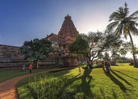 Gangaikondacholapuram: l'ancienne belle ville à un temple