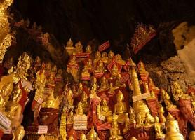 Grottes de Pindaya: la cave aux 8000 Bouddhas d'or!