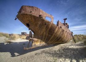 Mer d'Aral: découvrez la belle au collier doré