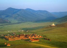 Monastère de Amarbayasgalant: la cachette du bonheur