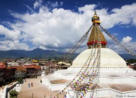 Stupa de Bodnath: au sommet de la splendeur