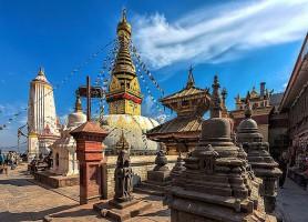 Stupa de Swayambhunath: l'Himalaya bouddhiste