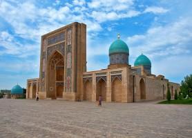 Tachkent: une véritable ville de pierre