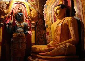 Temple de Mulkirigala: le magnifique temple des collines sri lankais