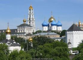 Laure de la Trinité-Saint-Serge: la perle orthodoxe dorée de Moscou
