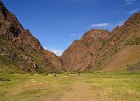 Vallée de Yol: la belle vallée des aigles mongole