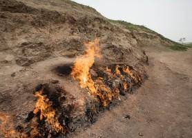 Yanar Dag: une flamme naturelle extraordinaire