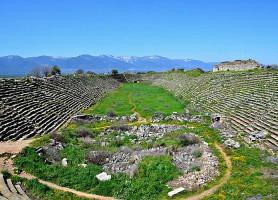 Aphrodisias: la resplendissante cité d'Aphrodite