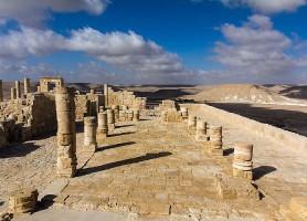 Avdat: une belle contrée en plein désert
