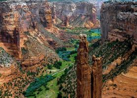 Canyon de Chelly: l'un des plus beaux paysages en Amérique