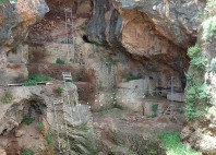 Grottes de Nahal Me'arot