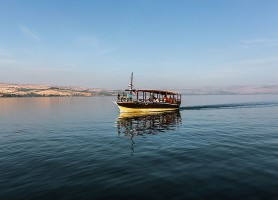 Mer de Galilée : l'une des plus célèbres étendues d'eau