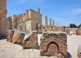 Palais d'Hisham: l'incontournable trésor de Jéricho