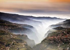 Vallée de Qadisha: une vallée sainte du Liban