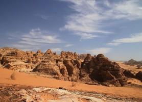 Wadi Araba: un spectaculaire désert entre l'Israël et la Jordanie