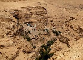 Wadi Qelt: la magnifique oasis du désert de Judée