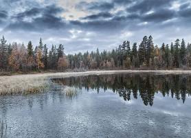 Lac Inari: l'extraordinaire mirage finlandais