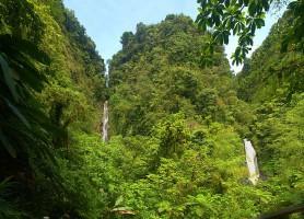 Parc national de Morne Trois Pitons: un fascinant site