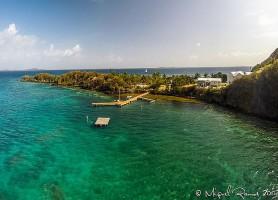 Île Palominos: perchée sur une gigantesque falaise au milieu de l'océan
