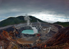Parc national du volcan Poás: le sanctuaire naturel