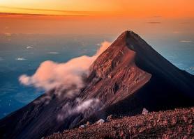 Volcan Acatenango: un lieu de randonnée impressionnant