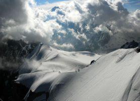 Aiguille du Midi: abstenez-vous-en si vous avez peur des altitudes