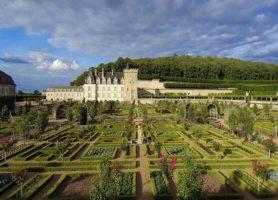 Château de Villandry: la cité aux jardins enchantés