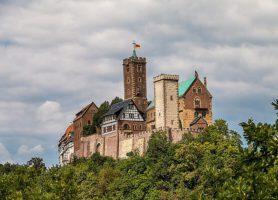 Château de la Wartbourg: le château parfait