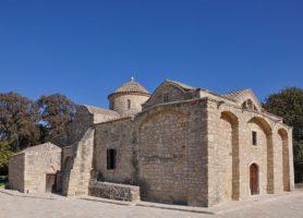 Église Angeloktisti: la somptueuse cathédrale byzantine