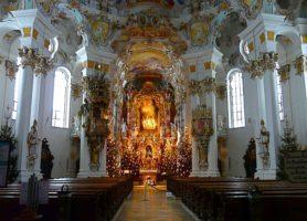 Église de Wies: église de pèlerinage du Christ flagellé