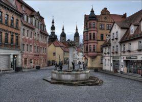 Eisleben: une cité d'un calme imperturbable