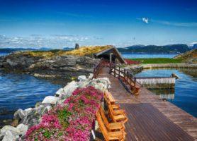 Flor & Fjære: un jardin très riche en couleur