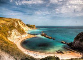 Littoral du Dorset: surprenantes formations géologiques