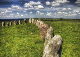 Mégalithes de Ale: un mystérieux site historique