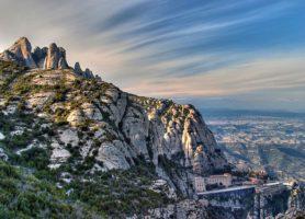 Montserrat: le somptueux cadre de retraite bénédictin