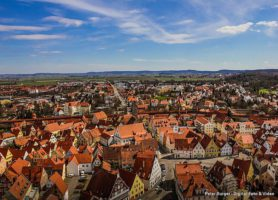 Nördlingen: la cité spatiale de la Bavière