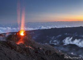 Piton de la Fournaise: un volcan unique
