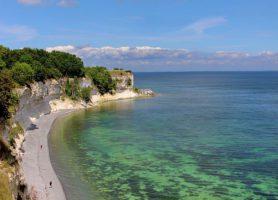 Stevns Klint: ces falaises content des millions d'années d'histoire