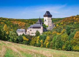 Château de Karlštejn: au sein d'une élégante résidence royale
