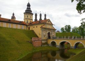 Château de Niasvij: un véritable palais verdoyant