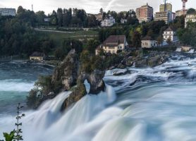 Chutes du Rhin: la plus grande chute d'eau d'Europe