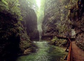 Gorges de Vintgar: au cœur d'un exceptionnel don de la nature