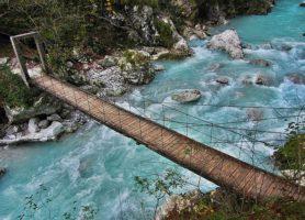 Gorges de Tolmin: de surprenantes formations géologiques