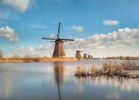 Kinderdijk: une parfaite illustration de la maîtrise de l'eau