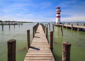 Lac de Neusiedl: une magnifique et interminable étendue d'eau
